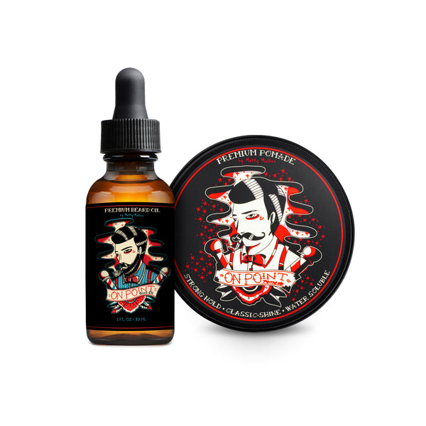 Premium Pomade / Beard Oil BUNDLE