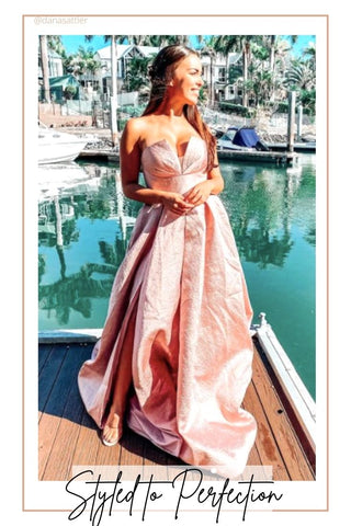 tinaholy Lucille gown pink