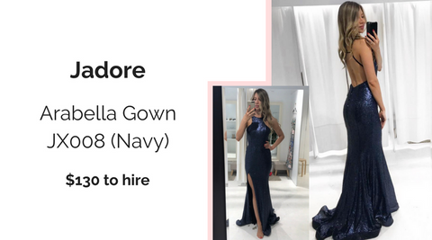 Jadore JX008 Designer Dress Hire North Sydney