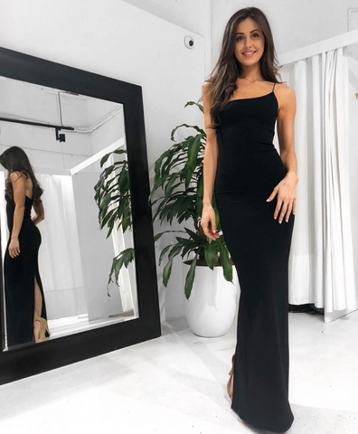 Nookie Penelope Gown (Black) Designer Dress Hire North Sydney