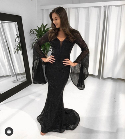 tina holy Vanessa gown