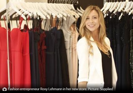 Roxy Lehmann Dress for a Night RENT A DRESS Sydney designer dress hire