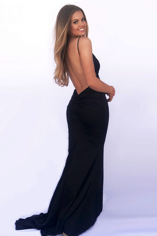 dress hire sydney rene the label low back formal dress