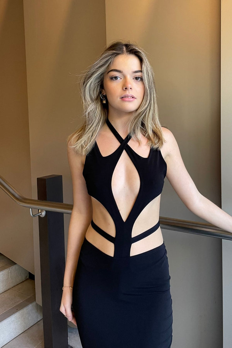 NOOKIE Aura Gown (Light Gold)- RRP $269- Rent Dress for a Night
