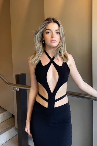 NOOKIE Aura Gown (Light Gold)- RRP $269