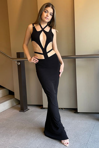 NOOKIE Diamond Jumpsuit (Cherry Red)- RRP $289