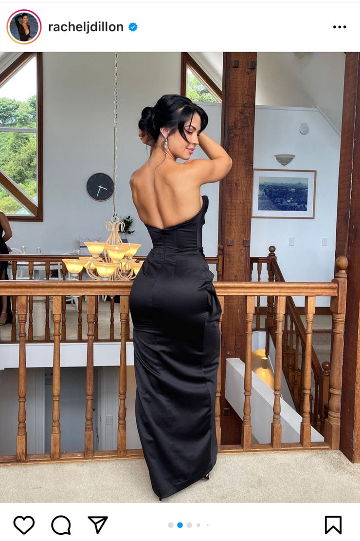 JADORE Georgia Dress (Burgundy) - RRP $460
