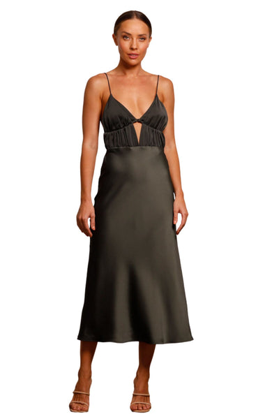 JADORE Mia Full Length Gown J9116 (Forest) - RRP $525