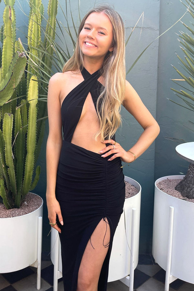 jadore-cari-gown-jx098-black-rrp-455 Rent this gown from Dress for a Night North Sydney Guildford hire boutiques