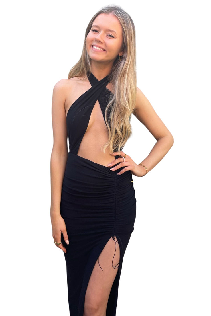 Cari Gown (black) - RRP $455