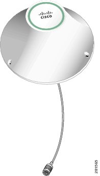 Cisco 4G Indoor Ceiling-Mount Omnidirectional Antenna