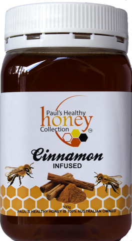 Cinnamon Infused Honey 500g