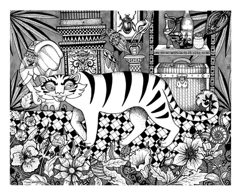 Kunst plakat // Limited edition art print // 'Tiger'