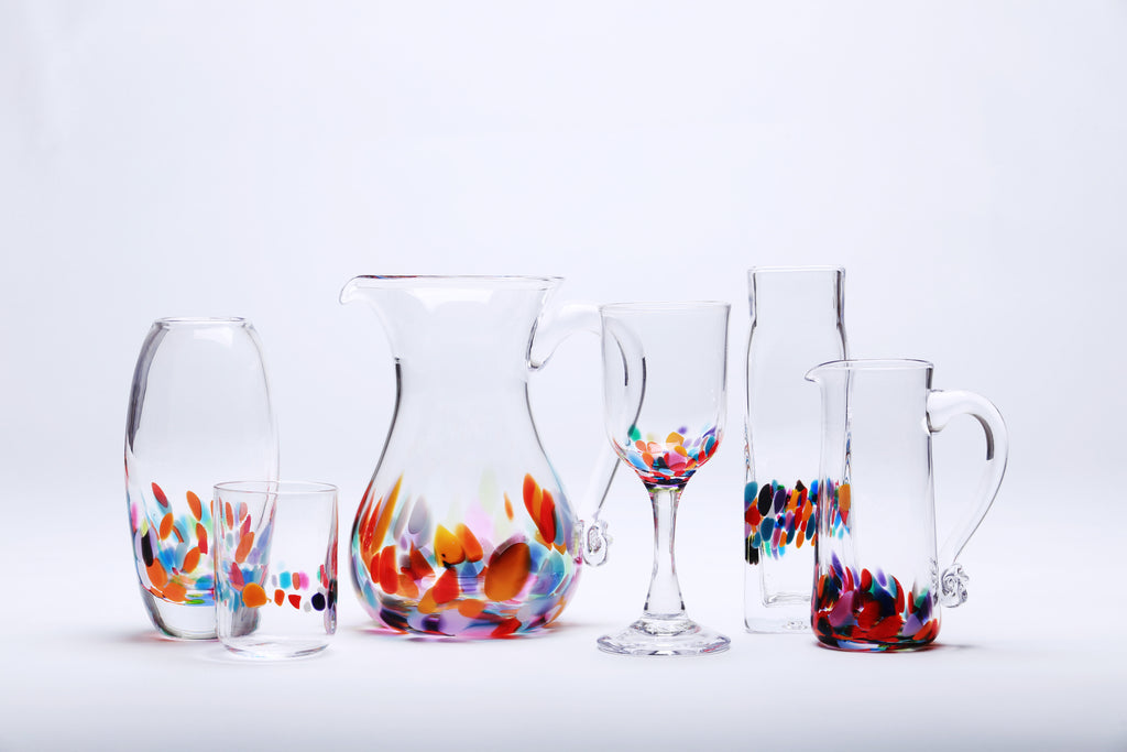 Festival handmade glass collection