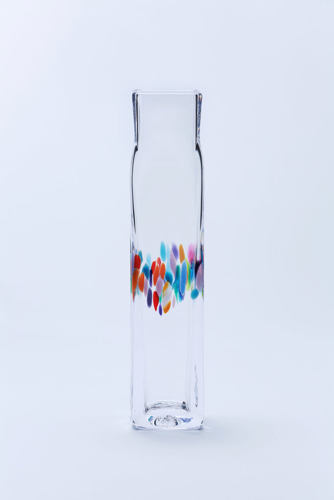 Tall Square Vase - Jerpoint Glass