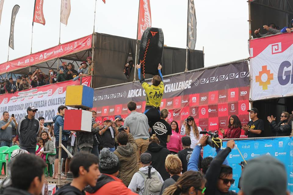 Iain Campbell wins first APB World Tour Grand Slam in Arica, Chile