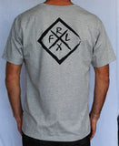 Diamond Tee Grey