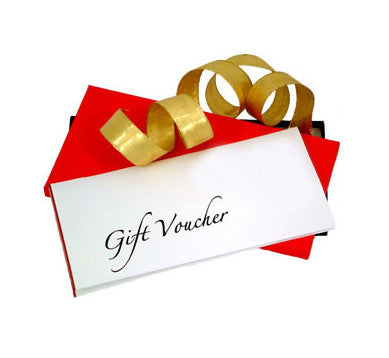 GIFT VOUCHERS- Choose your amount!!