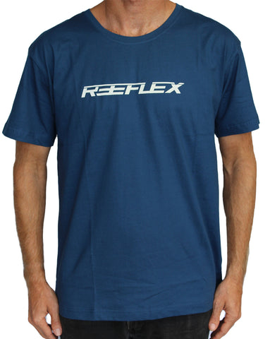 The Reeflex Tee Steel Blue