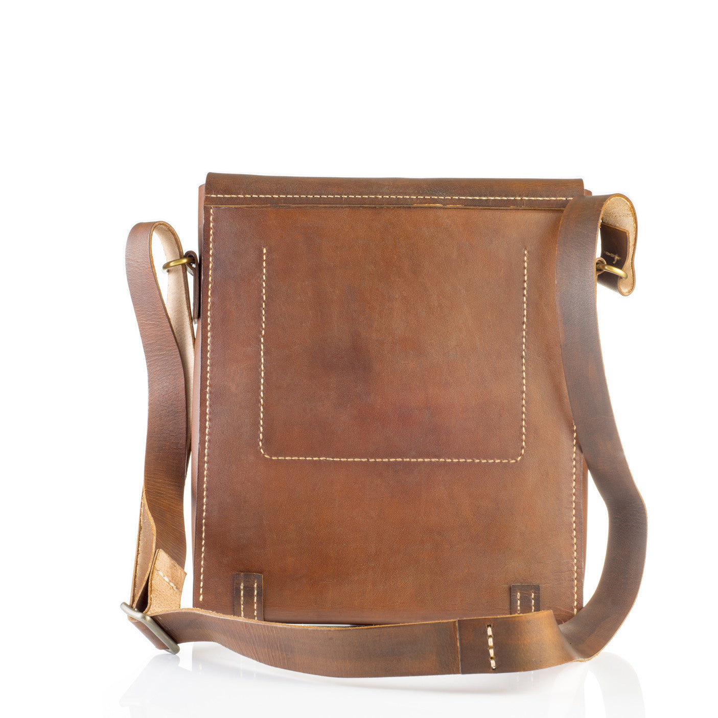 Men's Messenger Bag/Laptop Bag - Two Horns