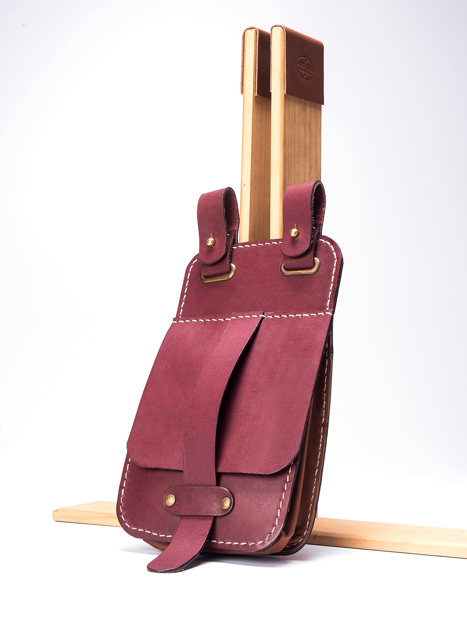 Simple Hip Pouch - Two Horns