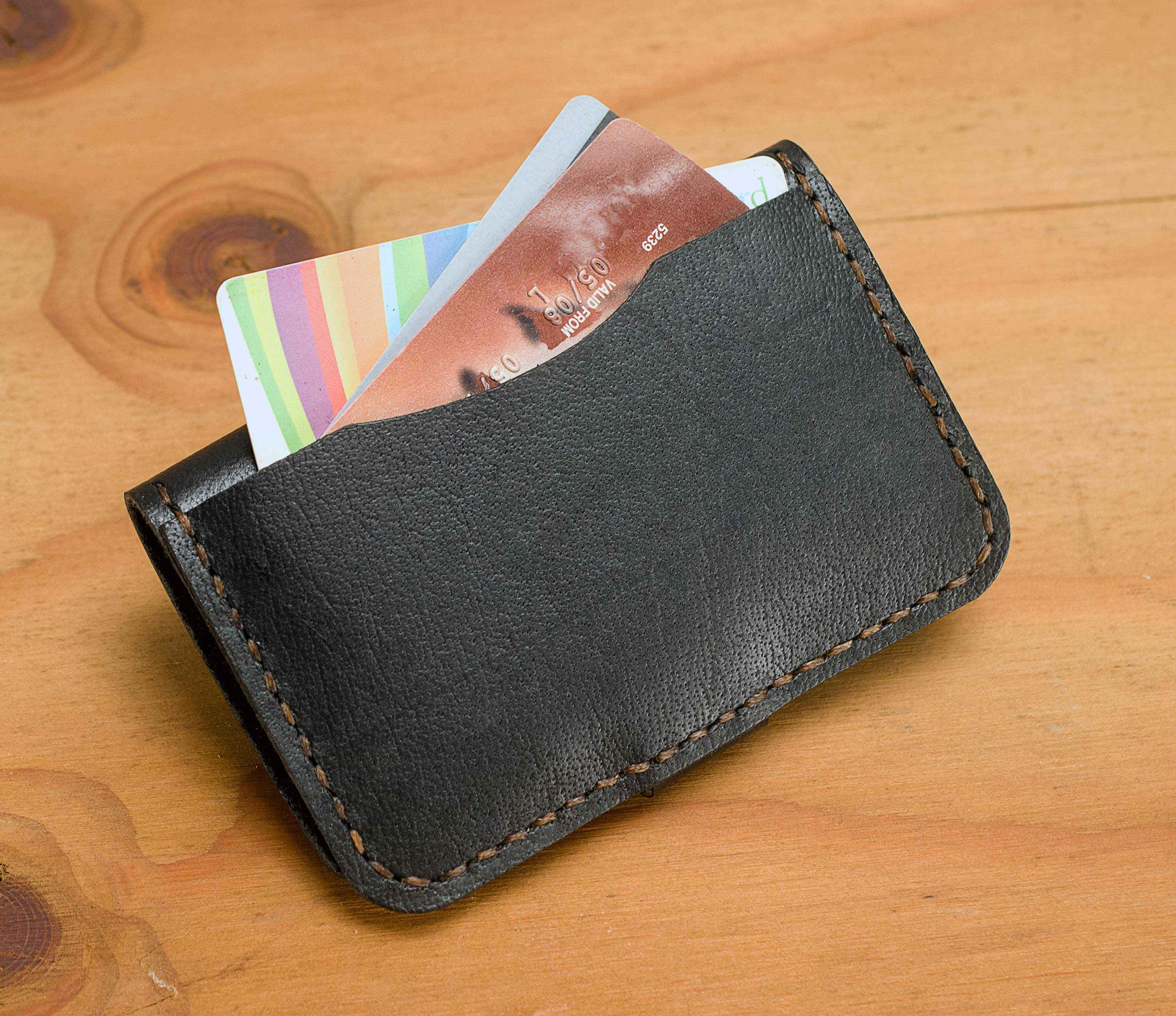 Key Fob Wallet - Two Horns