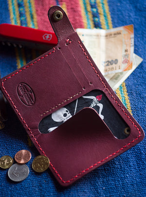 Skull Cupid Wallet - Two Horns