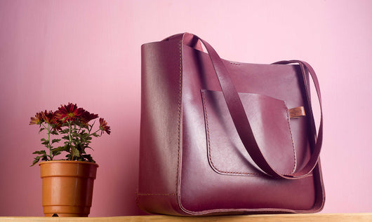 Tote bag - Burgundy