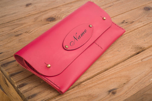 Engraved Classic Clutch for everyday
