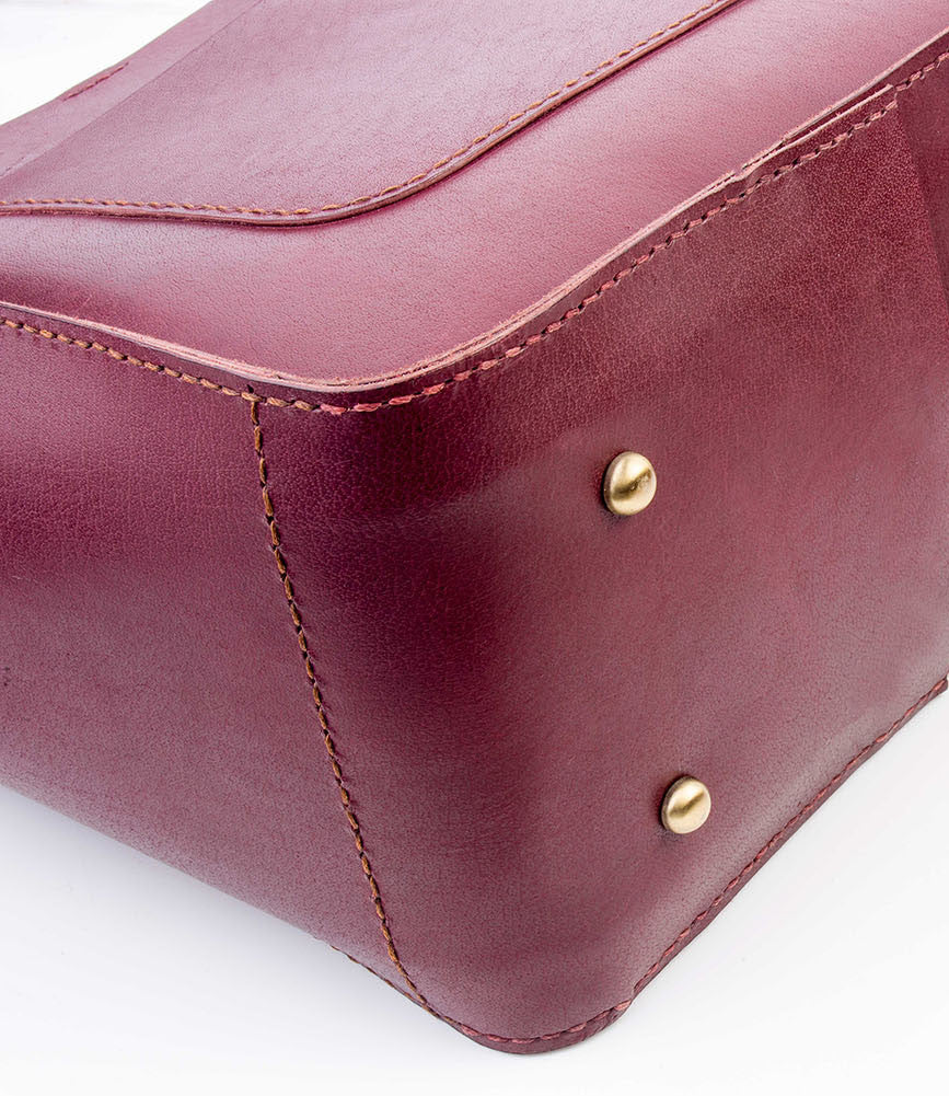 Tote bag - Burgundy - Two Horns
