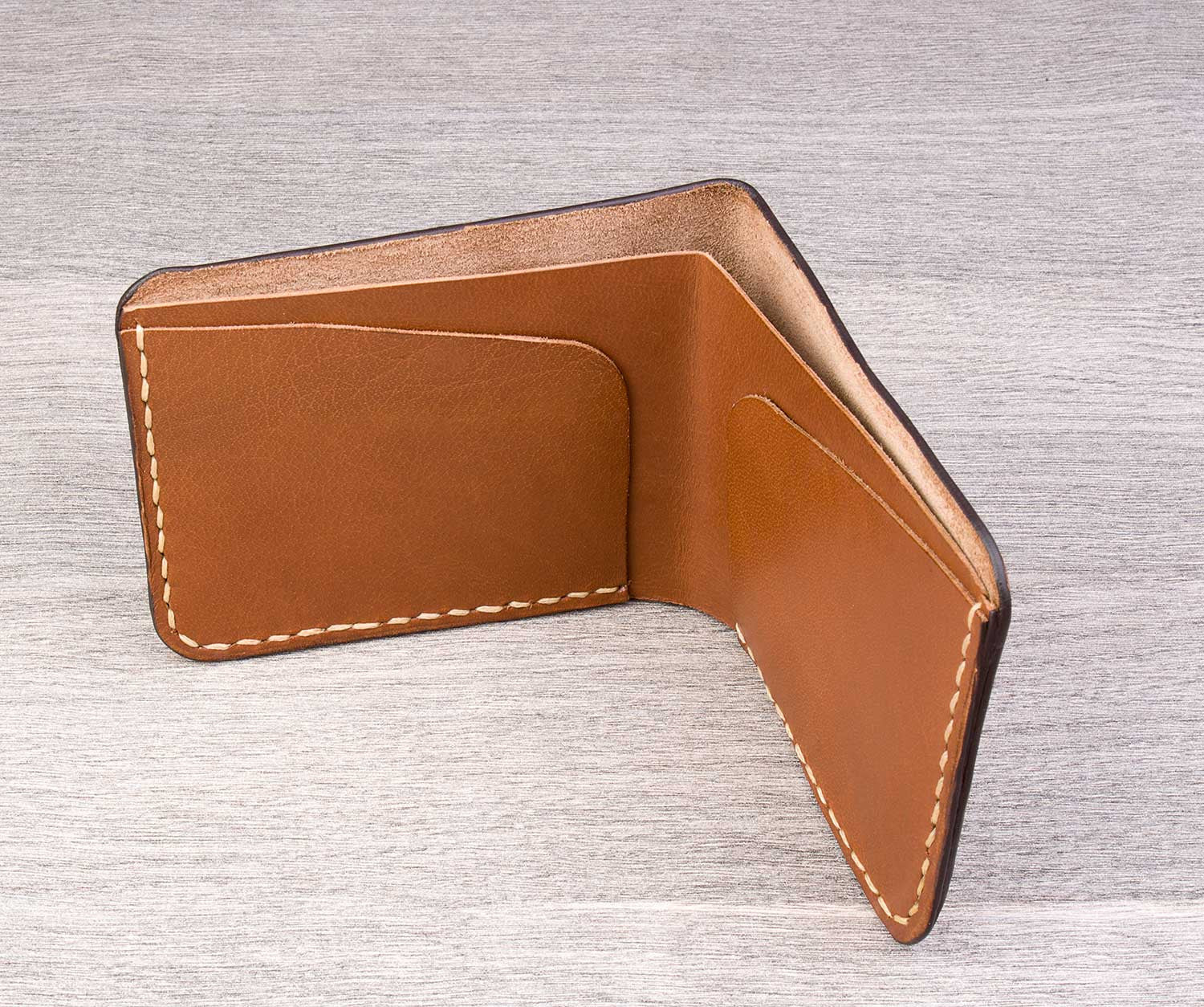 Men's simple wallet - Valley - Two Horns
