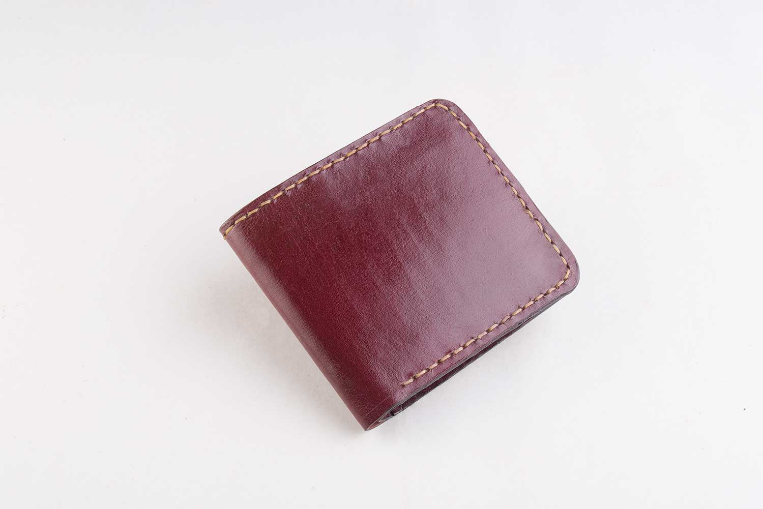 Gutsy Men's wallet - Burgundy - Two Horns