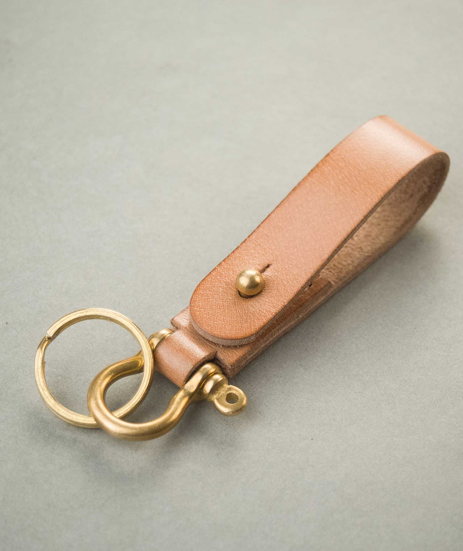 Classic Key Fob - Two Horns