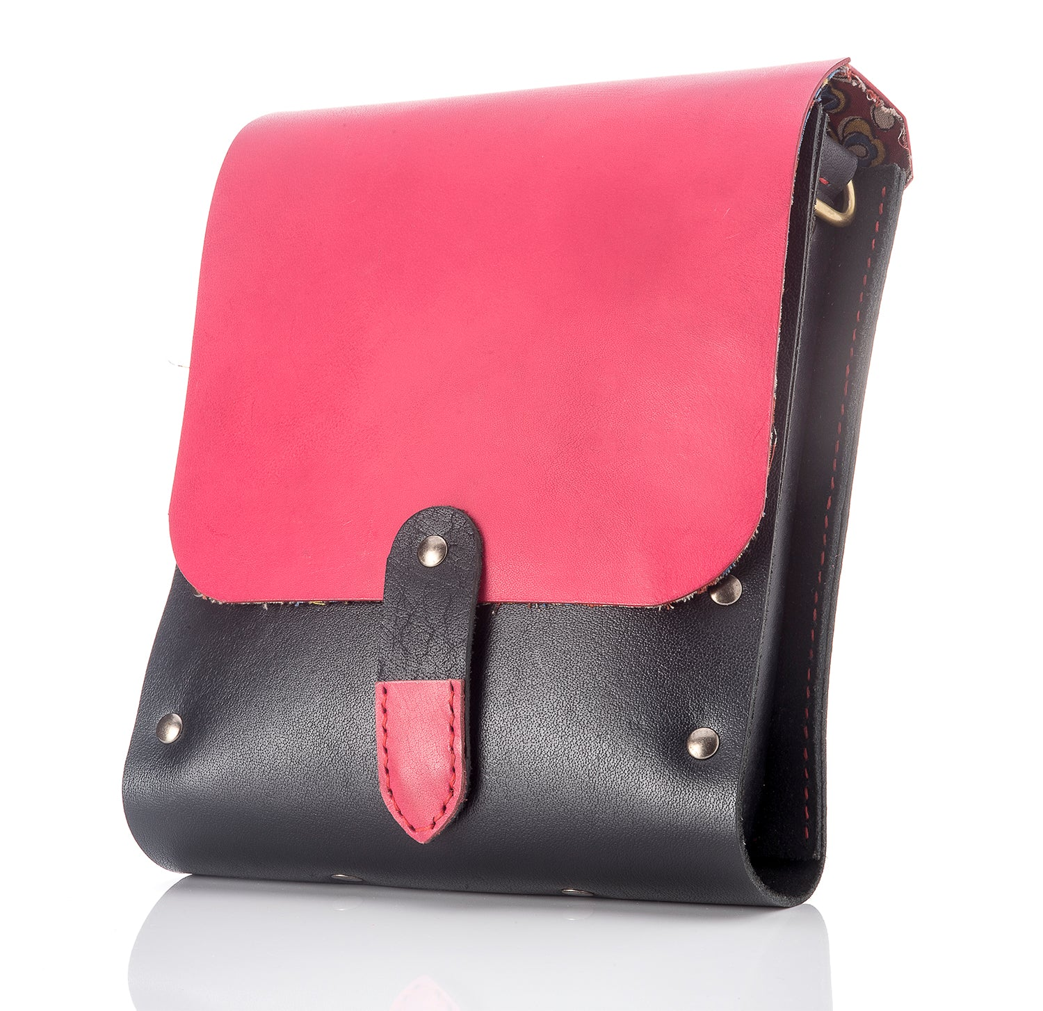 Biker Bag for Women Pink - Large - Two Horns