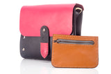 Biker Bag for Women Pink  - Small