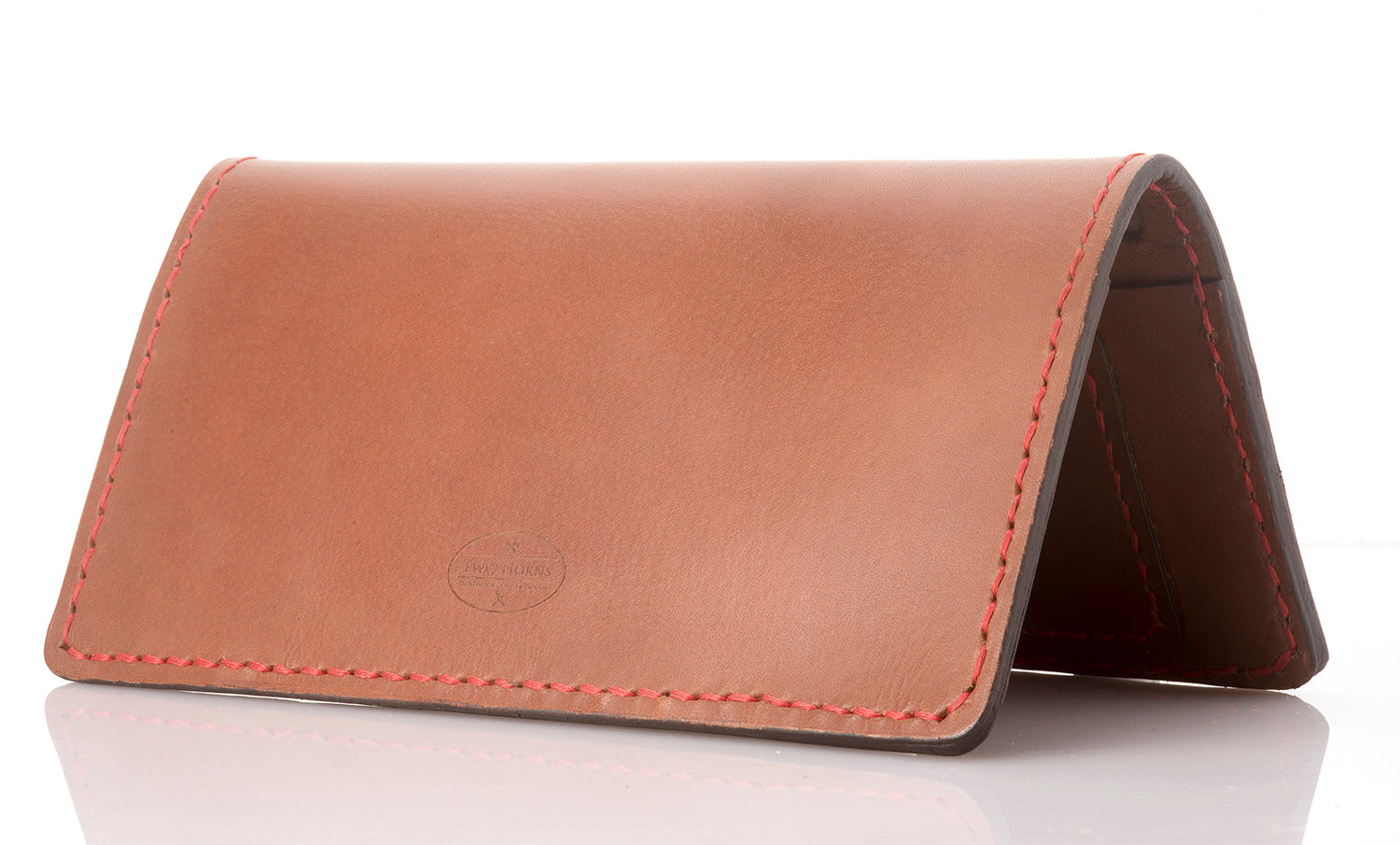 Fly-Hi passport case - Brown - Two Horns