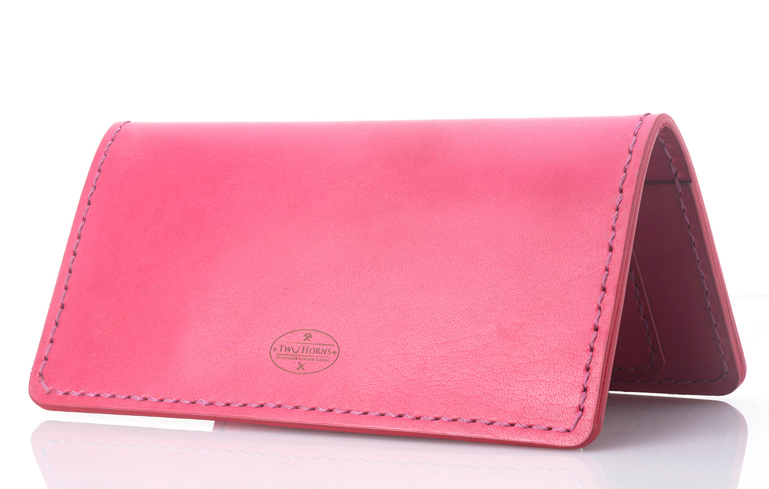 Fly-Hi passport case - Pink - Two Horns