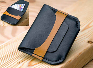 MINI-WALLET/CARD HOLDER - Two Horns