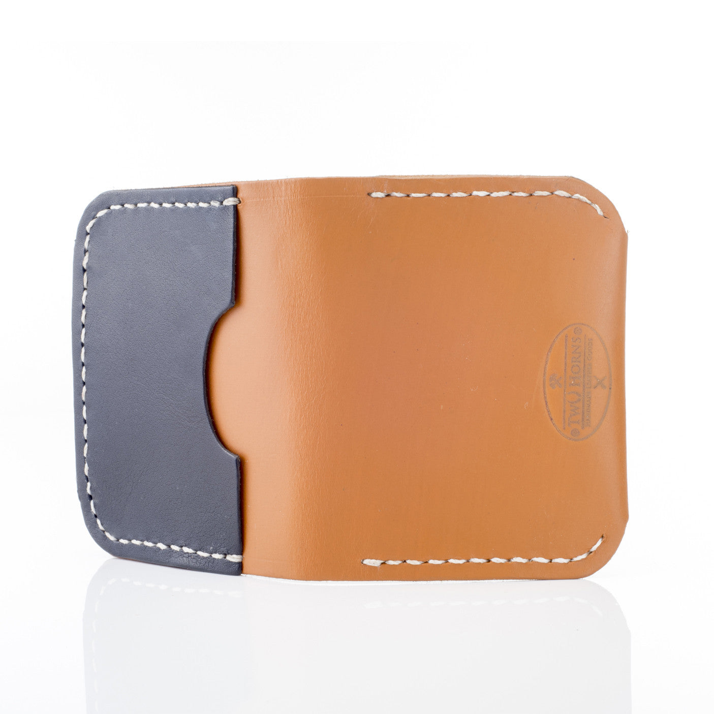 3 SLIT WALLET - Two Horns