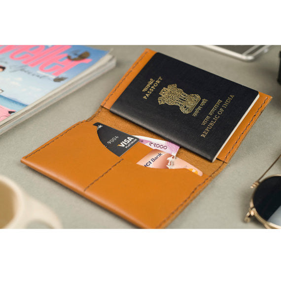 Personalised Passport case - Two Horns
