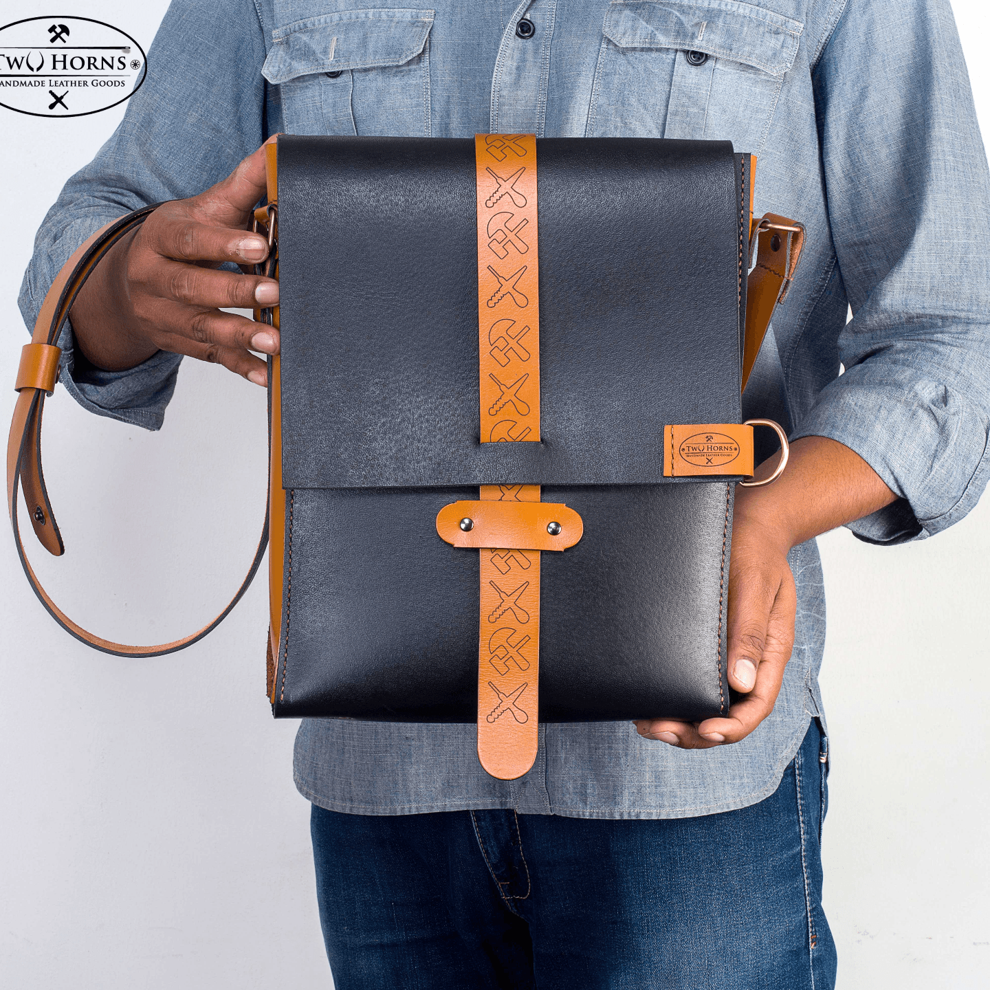 Messenger bag - Free style - Two Horns