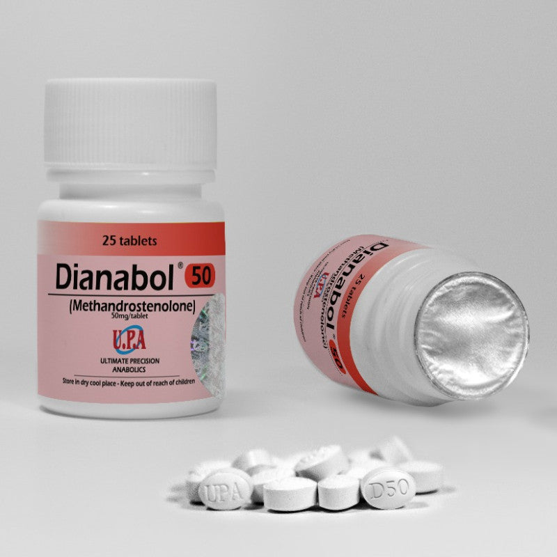 UPA DIANABOL 50MG EXTRA STRENGTH