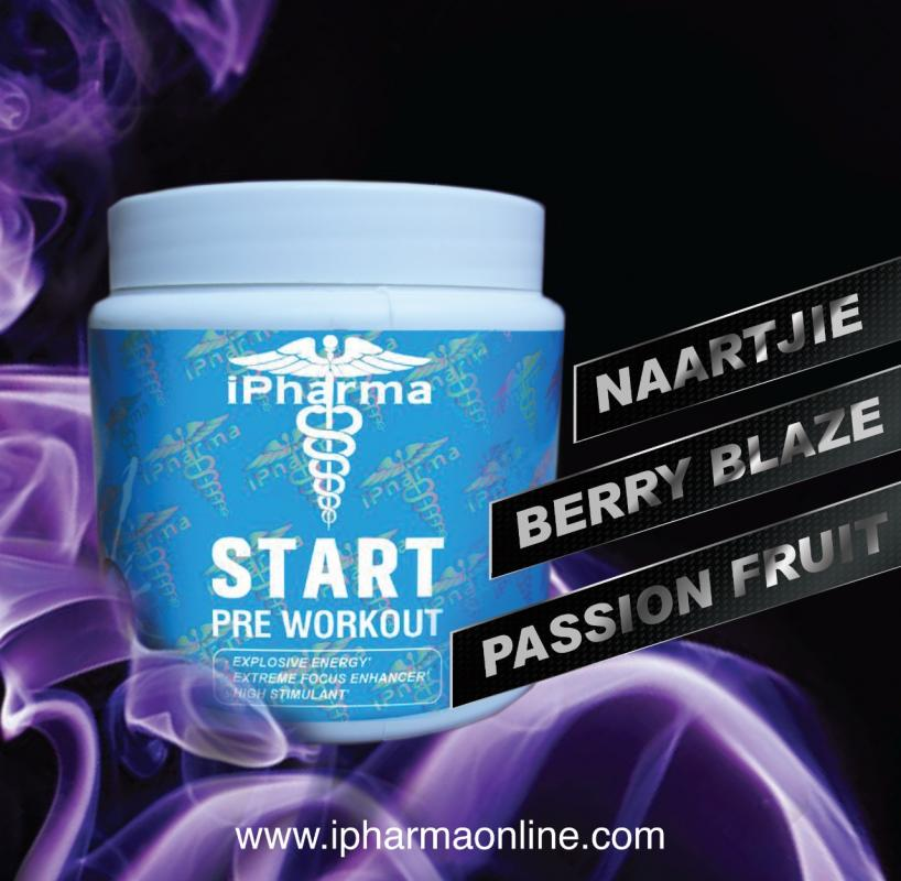 IPHARMA START PRE WORKOUT