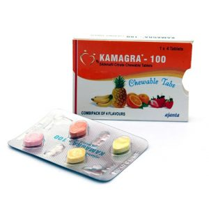 KAMAGRA 100 FRUITY CHEWABLES(VIAGRA)