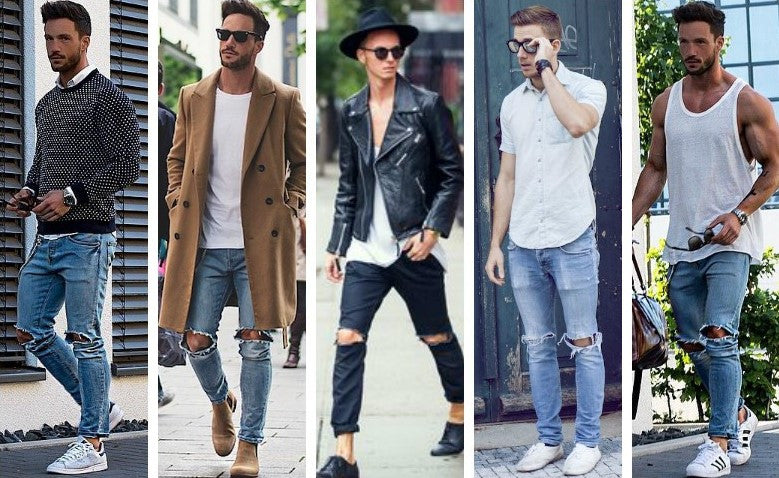 How To Wear Ripped Jeans and Still Look Très Chic