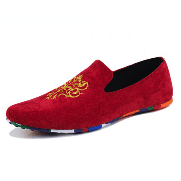 Suede Design Loafers (3 Colors) - TakeClothe - 1