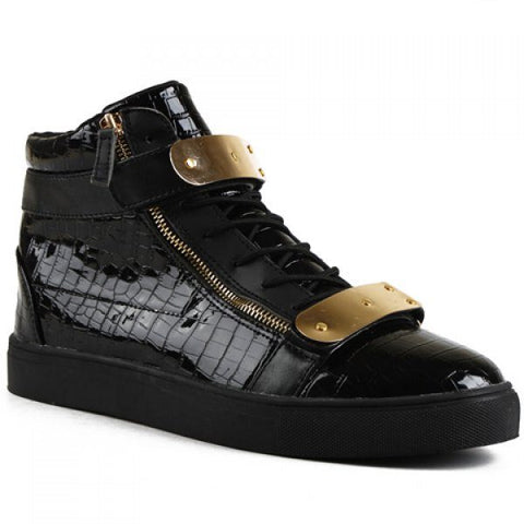 Metallic Design Sneakers - TakeClothe