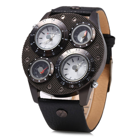 Double Quartz Movt Watch - TakeClothe