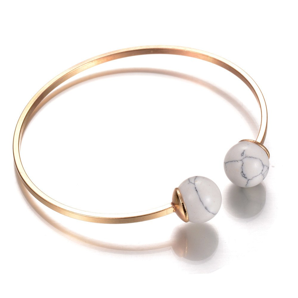 Crystal Ball Ultra Fine Cuff - TakeClothe