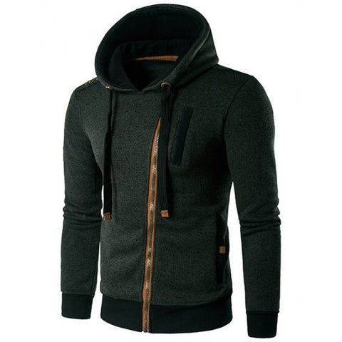 Zip Through Hoodie (3 Colors) - TakeClothe - 1